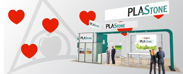 Featured Custom Island Booth with Meeting Space